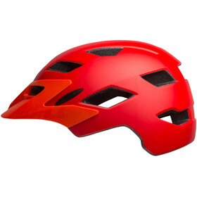 Bell Sidetrack Casco Niños, matte red/orange